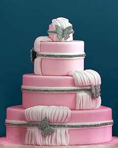 Ružové torty inšpirácie - Obrázok č. 53