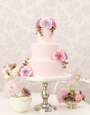 Ružové torty inšpirácie - Obrázok č. 61