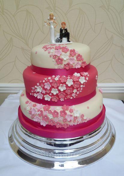 Ružové torty inšpirácie - Obrázok č. 62