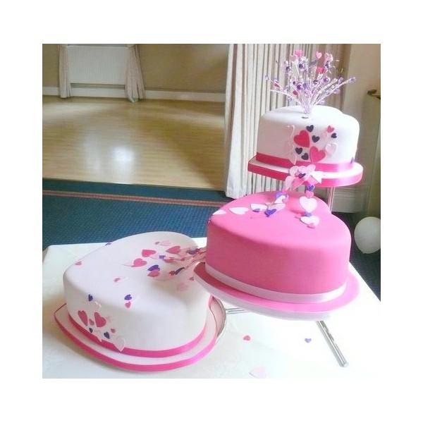 Ružové torty inšpirácie - Obrázok č. 64