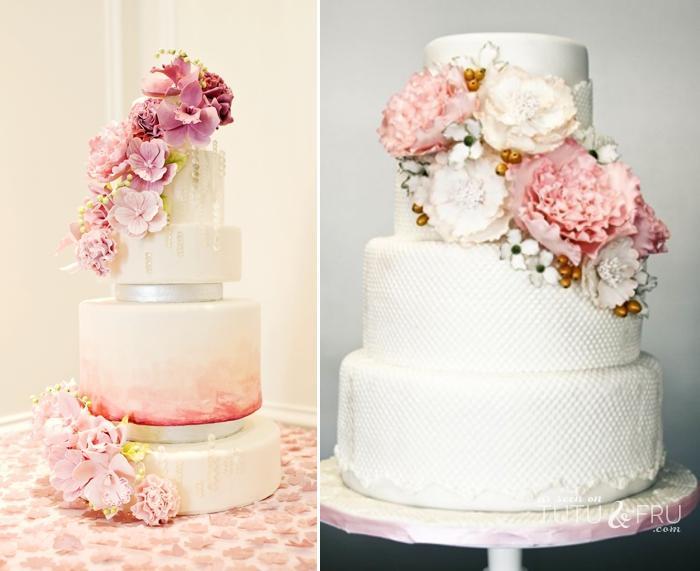Ružové torty inšpirácie - Obrázok č. 65