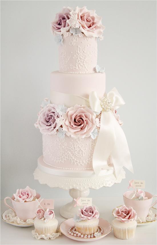 Ružové torty inšpirácie - Obrázok č. 67