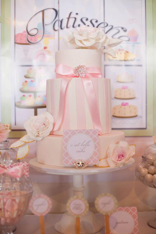 Ružové torty inšpirácie - Obrázok č. 68