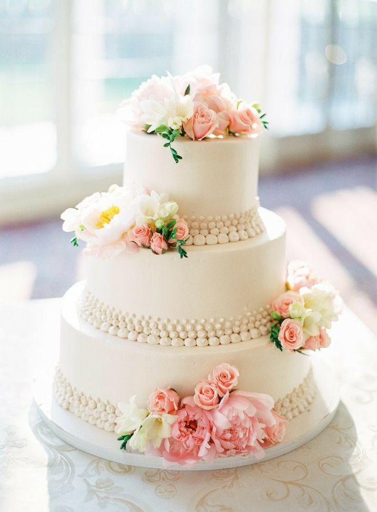 Ružové torty inšpirácie - Obrázok č. 72
