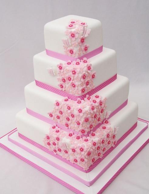 Ružové torty inšpirácie - Obrázok č. 73