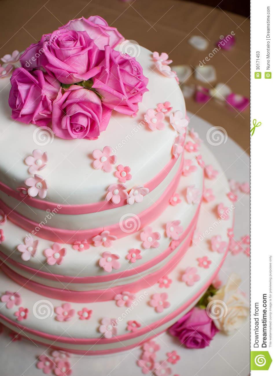 Ružové torty inšpirácie - Obrázok č. 74