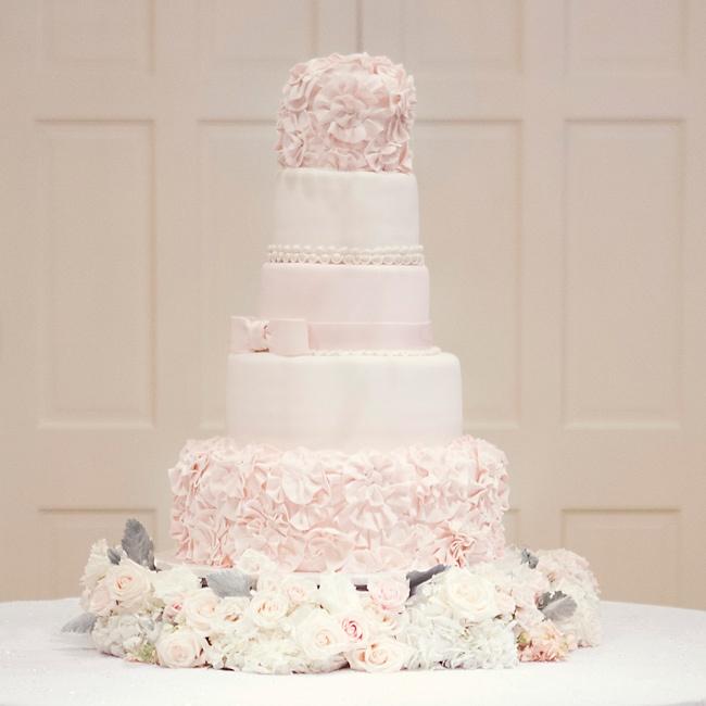 Ružové torty inšpirácie - Obrázok č. 75