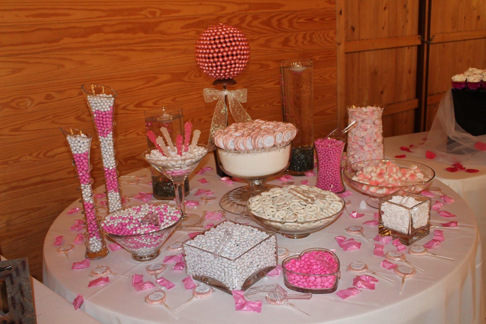 Candy bar alebo sladkosti na svadbe - Obrázok č. 2