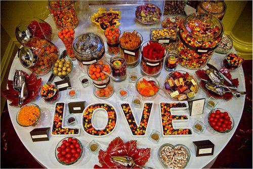 Candy bar alebo sladkosti na svadbe - Obrázok č. 5