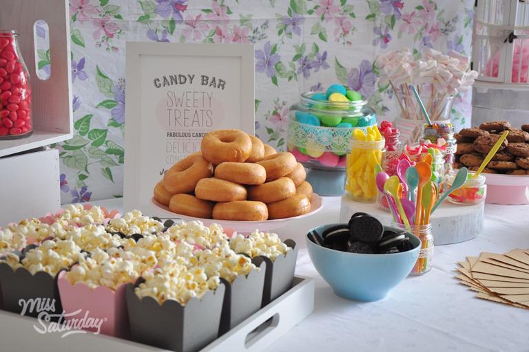 Candy bar alebo sladkosti na svadbe - Obrázok č. 6