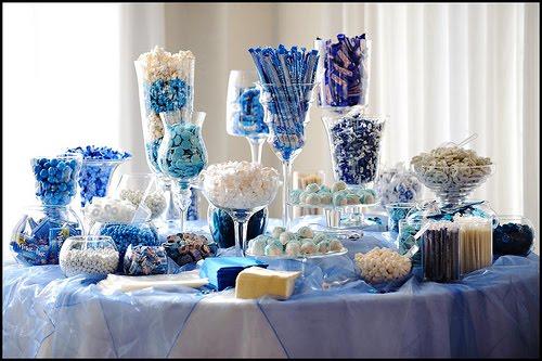 Candy bar alebo sladkosti na svadbe - Obrázok č. 9