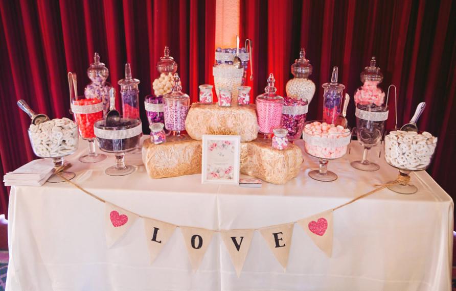 Candy bar alebo sladkosti na svadbe - Obrázok č. 8