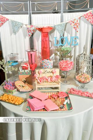 Candy bar alebo sladkosti na svadbe - Obrázok č. 10
