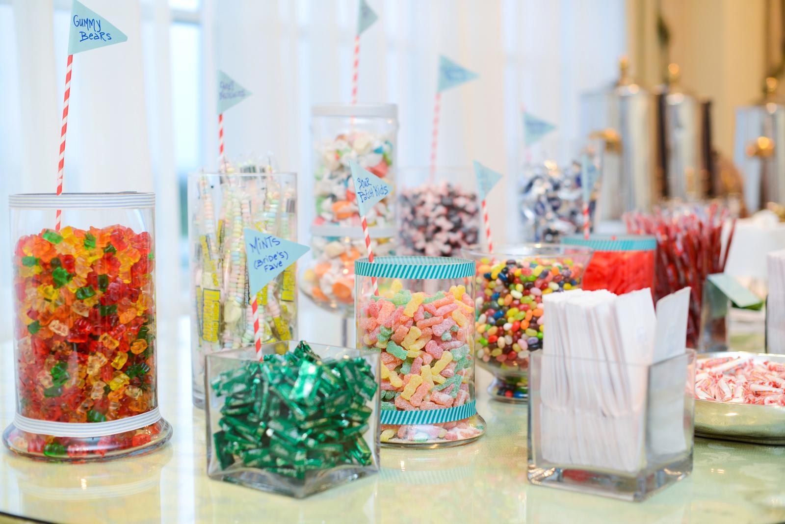 Candy bar alebo sladkosti na svadbe - Obrázok č. 22