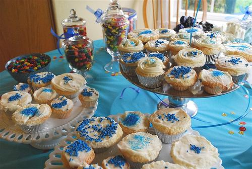 Candy bar alebo sladkosti na svadbe - Obrázok č. 24