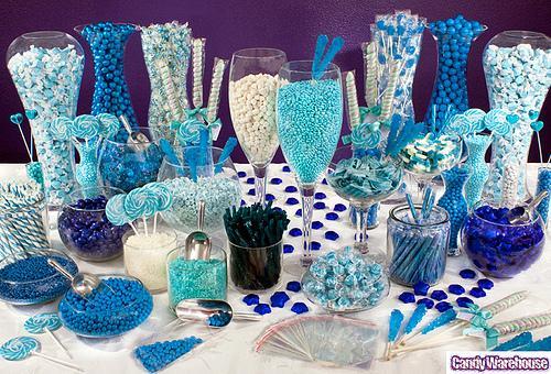 Candy bar alebo sladkosti na svadbe - Obrázok č. 25
