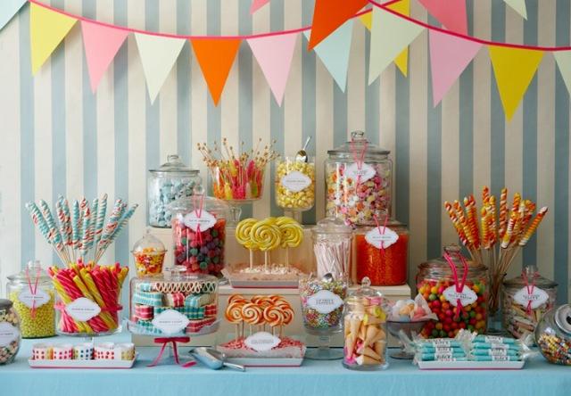 Candy bar alebo sladkosti na svadbe - Obrázok č. 32