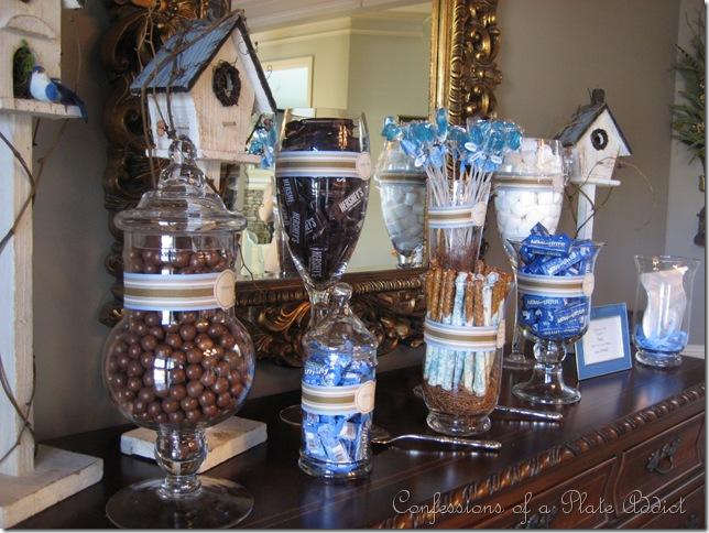 Candy bar alebo sladkosti na svadbe - Obrázok č. 37