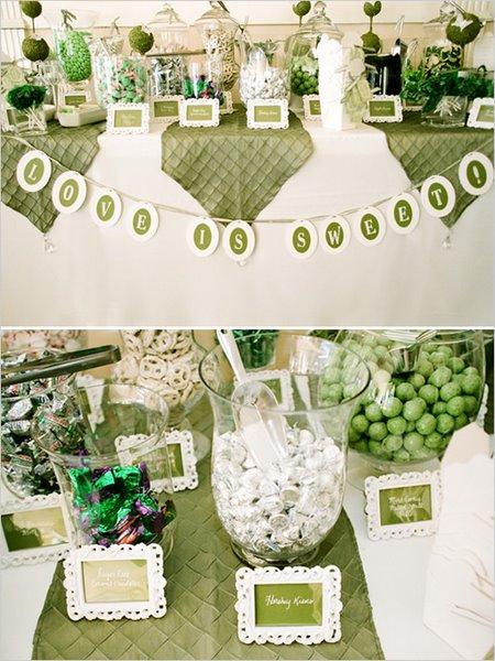 Candy bar alebo sladkosti na svadbe - Obrázok č. 39