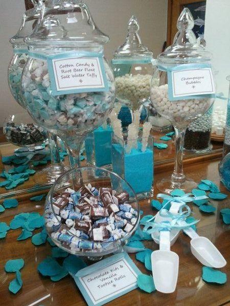 Candy bar alebo sladkosti na svadbe - Obrázok č. 41
