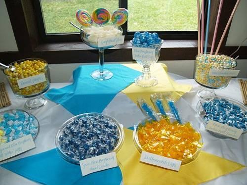 Candy bar alebo sladkosti na svadbe - Obrázok č. 42