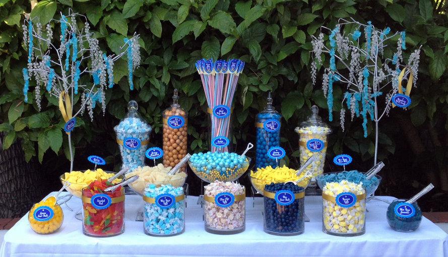 Candy bar alebo sladkosti na svadbe - Obrázok č. 45
