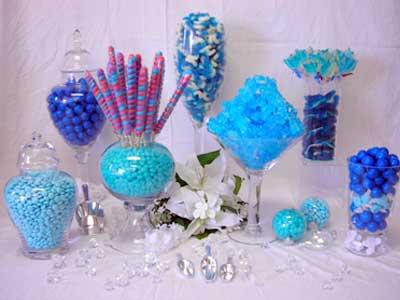 Candy bar alebo sladkosti na svadbe - Obrázok č. 35