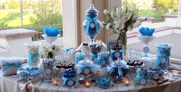 Candy bar alebo sladkosti na svadbe - Obrázok č. 19