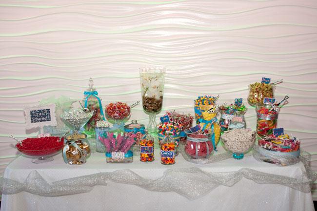 Candy bar alebo sladkosti na svadbe - Obrázok č. 46