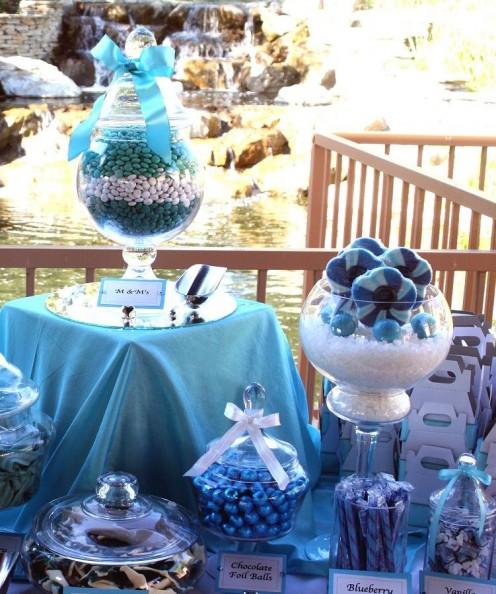 Candy bar alebo sladkosti na svadbe - Obrázok č. 47