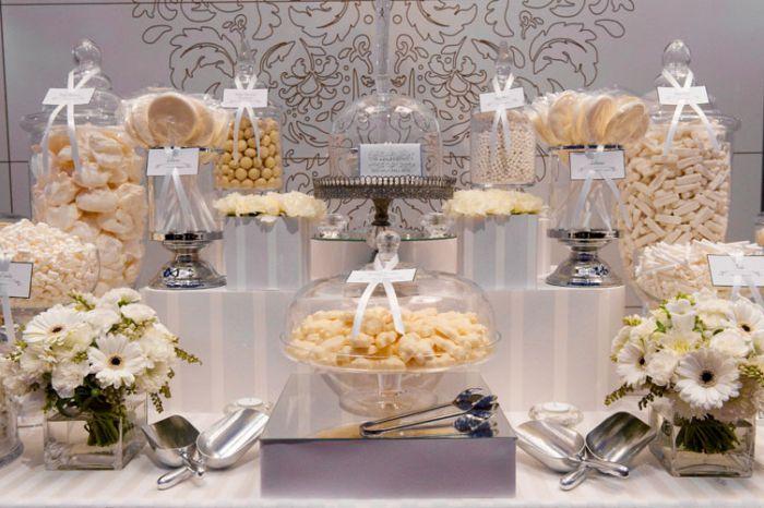 Candy bar alebo sladkosti na svadbe - Obrázok č. 48