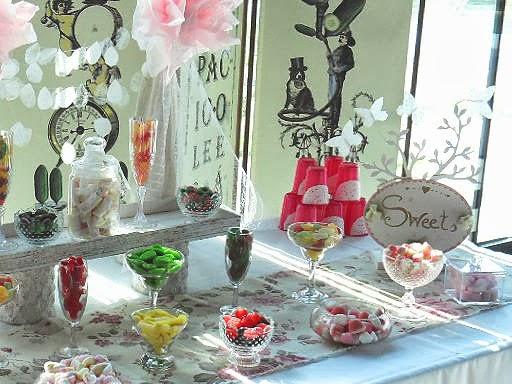 Candy bar alebo sladkosti na svadbe - Obrázok č. 50