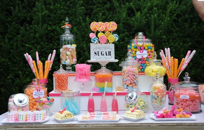 Candy bar alebo sladkosti na svadbe - Obrázok č. 51