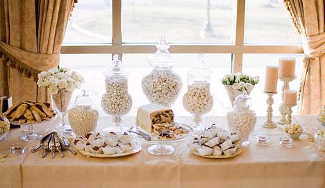 Candy bar alebo sladkosti na svadbe - Obrázok č. 52
