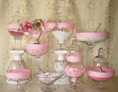 Candy bar alebo sladkosti na svadbe - Obrázok č. 53