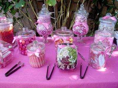 Candy bar alebo sladkosti na svadbe - Obrázok č. 54