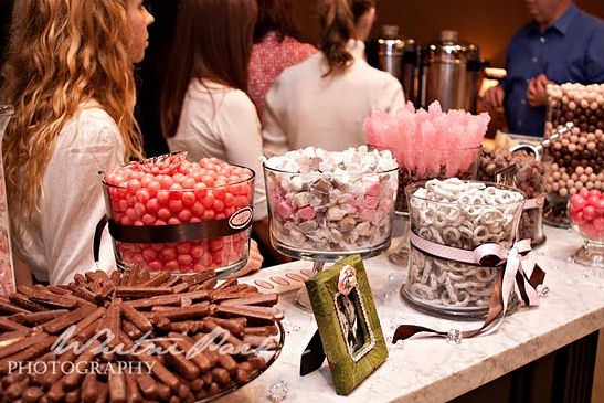 Candy bar alebo sladkosti na svadbe - Obrázok č. 59