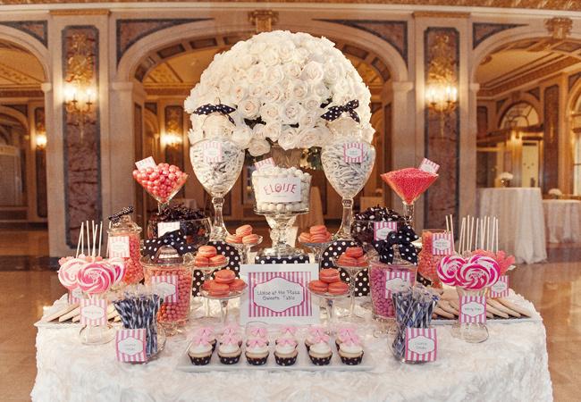Candy bar alebo sladkosti na svadbe - Obrázok č. 61