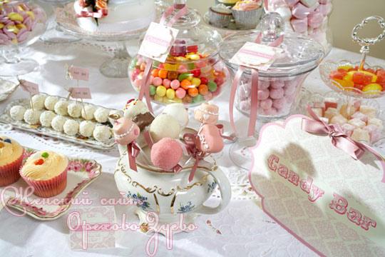 Candy bar alebo sladkosti na svadbe - Obrázok č. 62