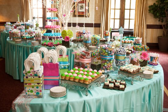 Candy bar alebo sladkosti na svadbe - Obrázok č. 65