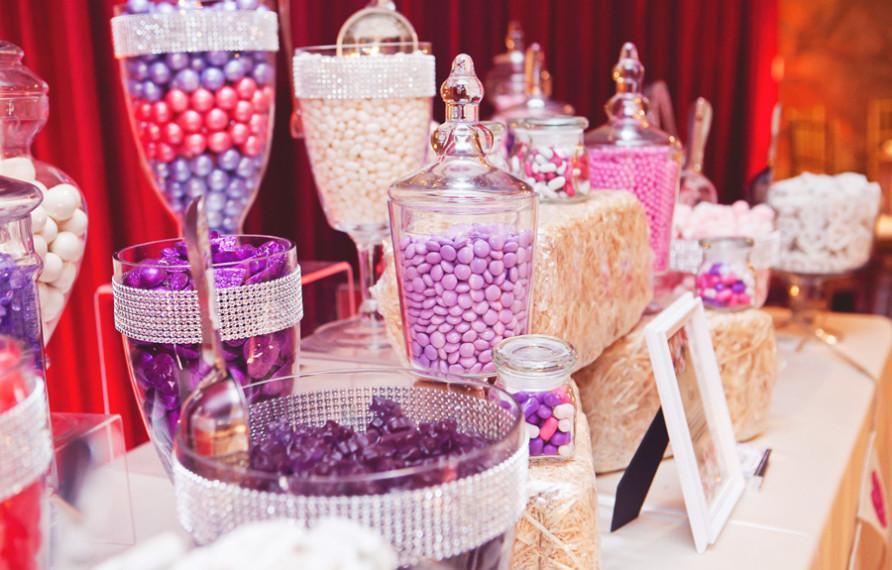 Candy bar alebo sladkosti na svadbe - Obrázok č. 66