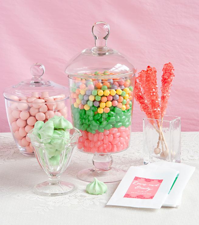 Candy bar alebo sladkosti na svadbe - Obrázok č. 68
