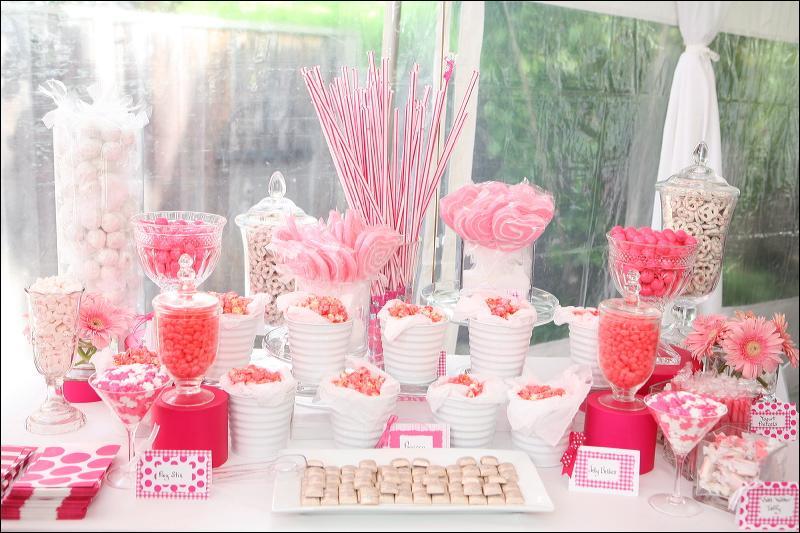 Candy bar alebo sladkosti na svadbe - Obrázok č. 70
