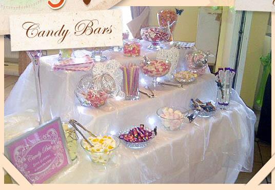 Candy bar alebo sladkosti na svadbe - Obrázok č. 72