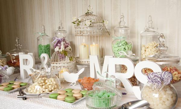 Candy bar alebo sladkosti na svadbe - Obrázok č. 74