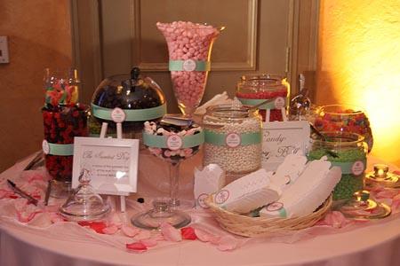 Candy bar alebo sladkosti na svadbe - Obrázok č. 75