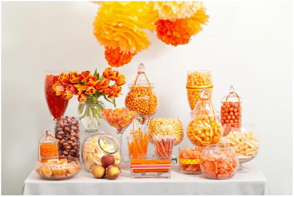 Candy bar alebo sladkosti na svadbe - Obrázok č. 76