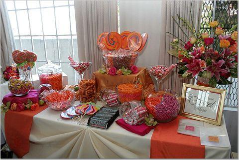 Candy bar alebo sladkosti na svadbe - Obrázok č. 78