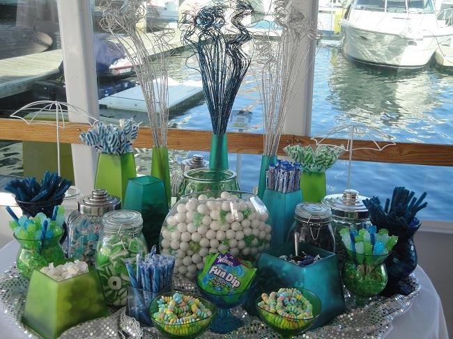 Candy bar alebo sladkosti na svadbe - Obrázok č. 80