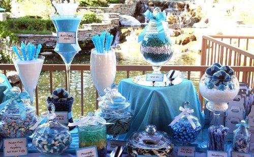 Candy bar alebo sladkosti na svadbe - Obrázok č. 82